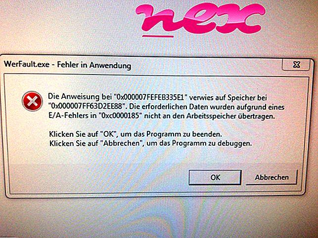 Qu'est-ce que WerFault.exe?