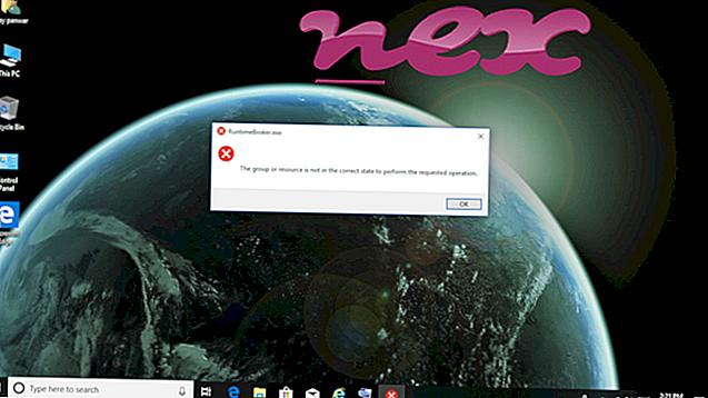 Čo je RuntimeBroker.exe?