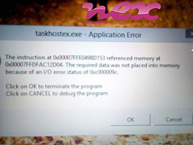 Qu'est-ce que taskhostex.exe?