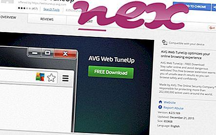 Mikä on AVG Web TuneUp.dll?