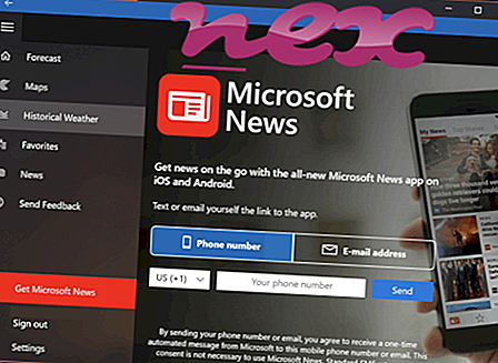 Mis on Microsoft.Msn.News.exe?
