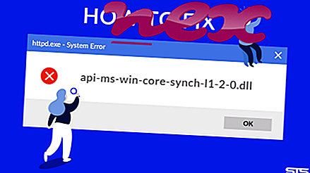 Che cos'è api-ms-win-core-synch-l1-2-0.DLL?